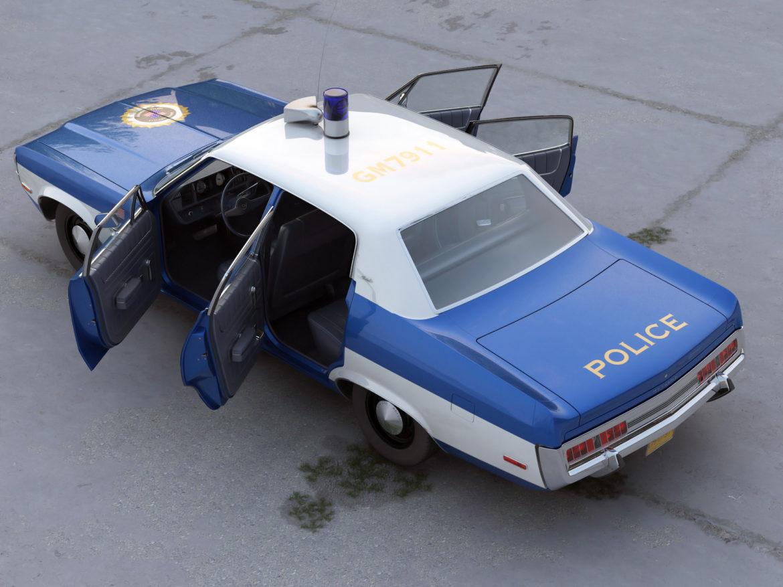 amc matador rendőrség 1972 3d modell 3ds max fbx c4d obj 273774