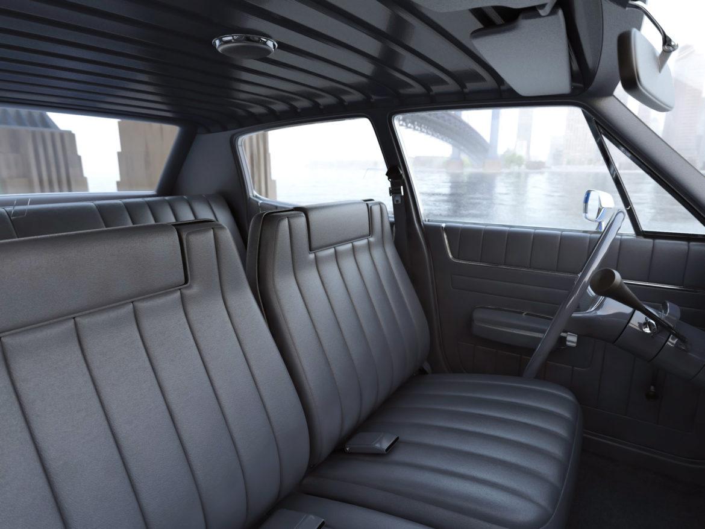 amc matador rendőrség 1972 3d modell 3ds max fbx c4d obj 273778