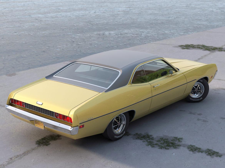 torino coupe 1971 3d model max fbx c4d obj 273812