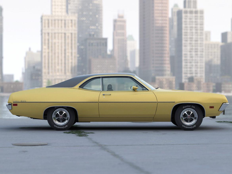 torino coupe 1971 3d model max fbx c4d obj 273814