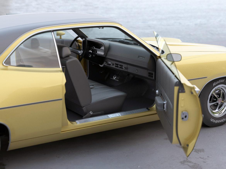 torino coupe 1971 3d model max fbx c4d obj 273818