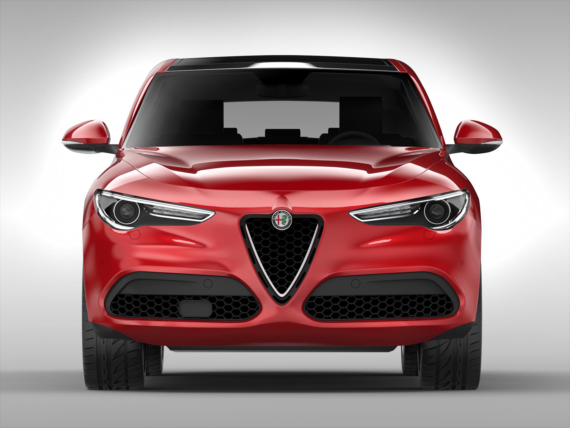 Alfa Romeo Stelvio D Model FlatPyramid - Alfa romeo model