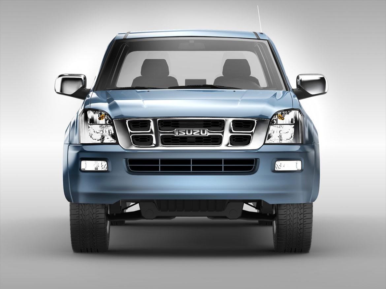 isuzu d-max crew cab (2004 – 2011) 3d model 3ds max fbx c4d ma mb obj 273869