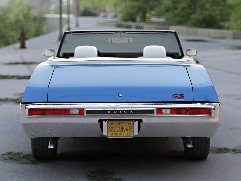gs convertible 1970 3d model 3ds max fbx c4d obj 273932