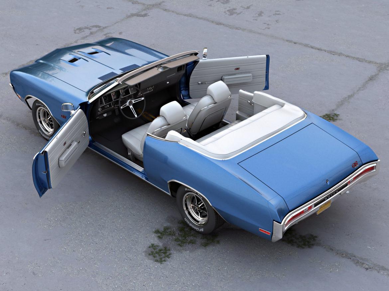 Buick GS Convertible 1970 3d model 3ds max fbx c4d obj