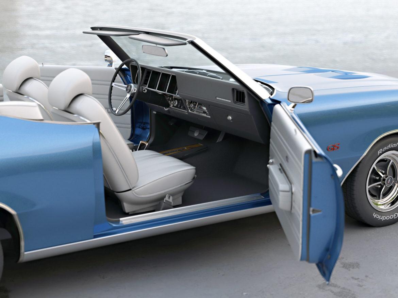 gs convertible 1970 3d model 3ds max fbx c4d obj 273935