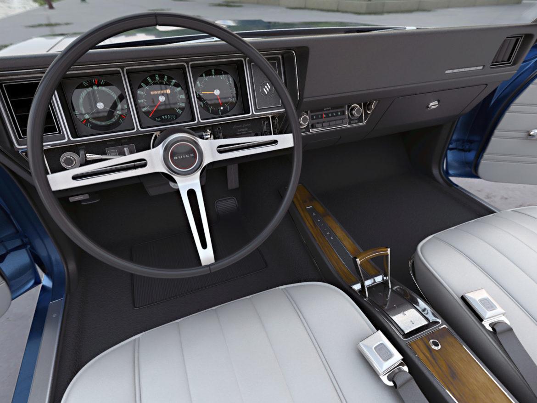 gs convertible 1970 3d model 3ds max fbx c4d obj 273936