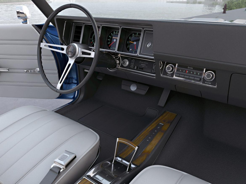 gs convertible 1970 3d model 3ds max fbx c4d obj 273937