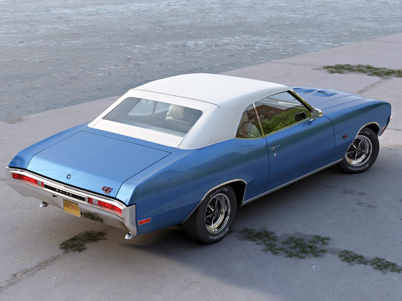 gs convertible 1970 3d model 3ds max fbx c4d obj 273941