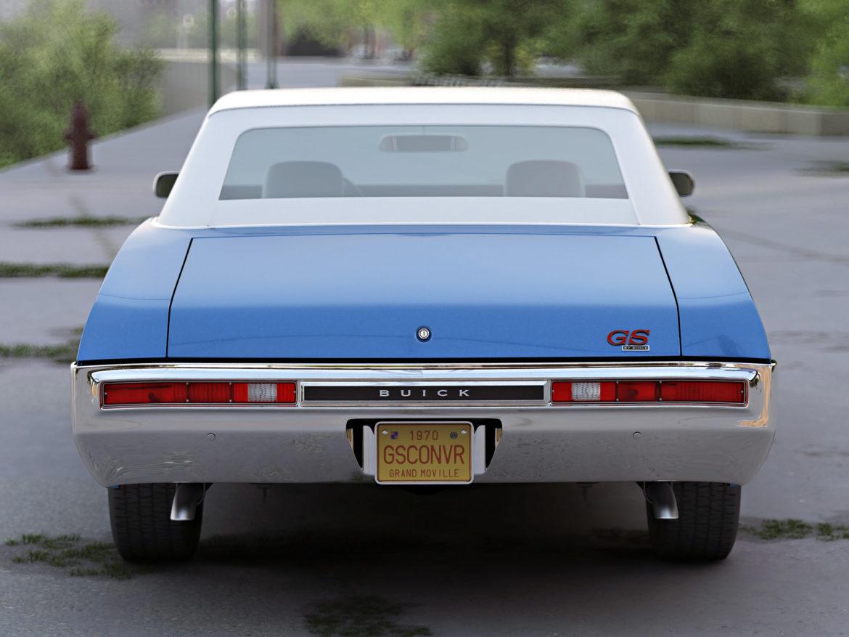 gs convertible 1970 3d model 3ds max fbx c4d obj 273944