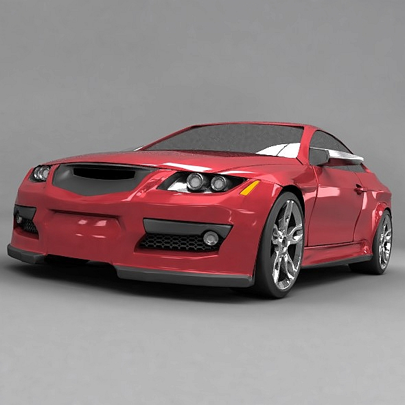 generic racing car concept 3d model 3ds fbx blend dae lwo obj 273958