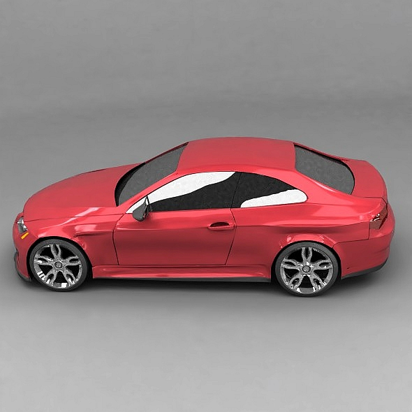generic racing car concept 3d model 3ds fbx blend dae lwo obj 273961