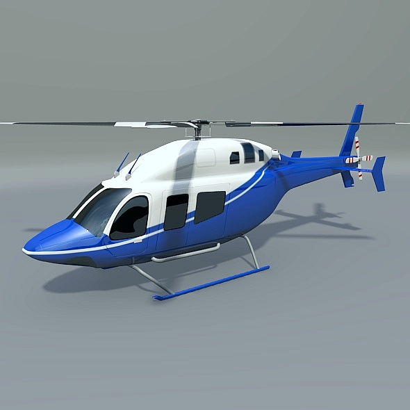zvono 429 civilni helikopter 3d model 3ds fbx blend dae lwo obj 273982