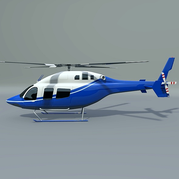 zvono 429 civilni helikopter 3d model 3ds fbx blend dae lwo obj 273986