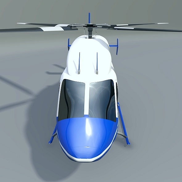 zvono 429 civilni helikopter 3d model 3ds fbx blend dae lwo obj 273987