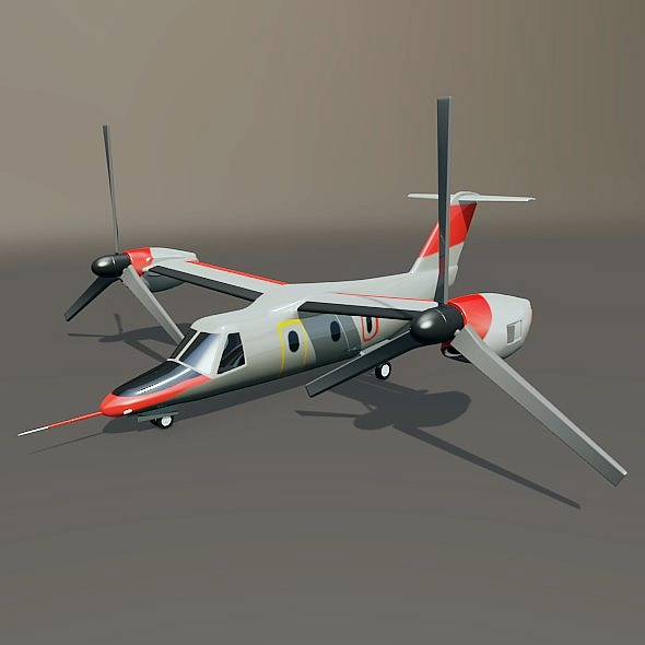 agustawestland aw-609 vtol lidmašīna 3d modelis 3ds fbx blend dae lwo obj 273996