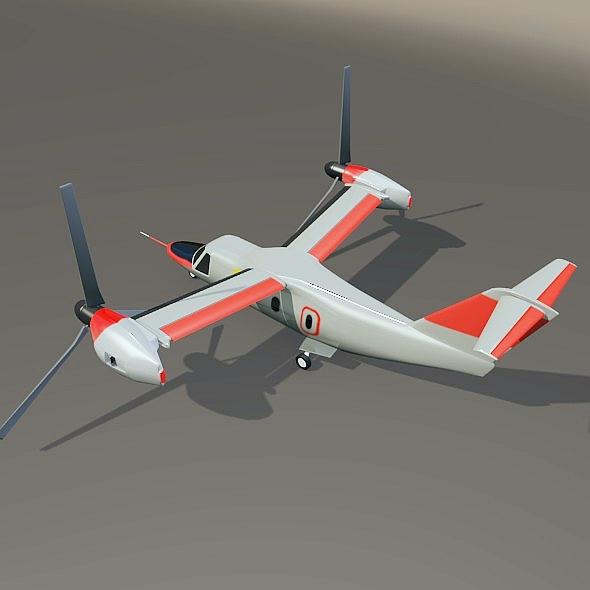agustawestland aw-609 vtol lidmašīna 3d modelis 3ds fbx blend dae lwo obj 273997