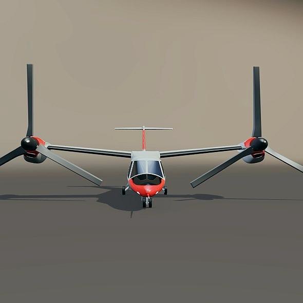 agustawestland aw-609 vtol lidmašīna 3d modelis 3ds fbx blend dae lwo obj 274000