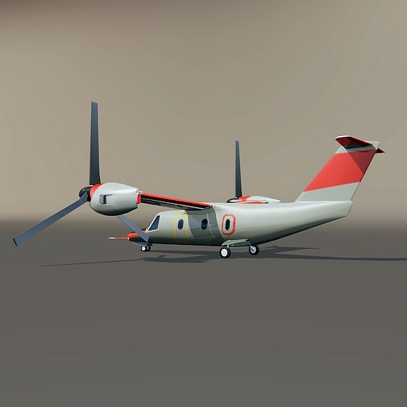 agustawestland aw-609 vtol lidmašīna 3d modelis 3ds fbx blend dae lwo obj 274001