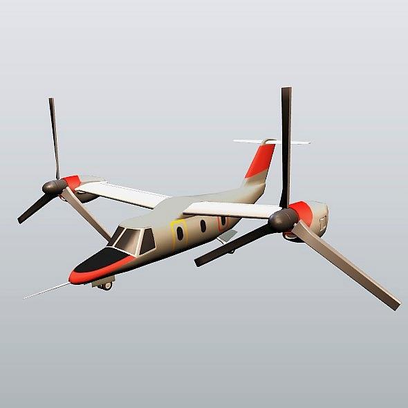 agustawestland aw-609 vtol lidmašīna 3d modelis 3ds fbx blend dae lwo obj 274006