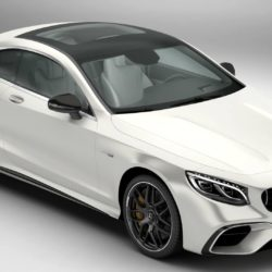 Mercedes S Class Coupe AMG S63 2018 3d model high poly 3ds max fbx c4d lwo lws lw ma mb obj
