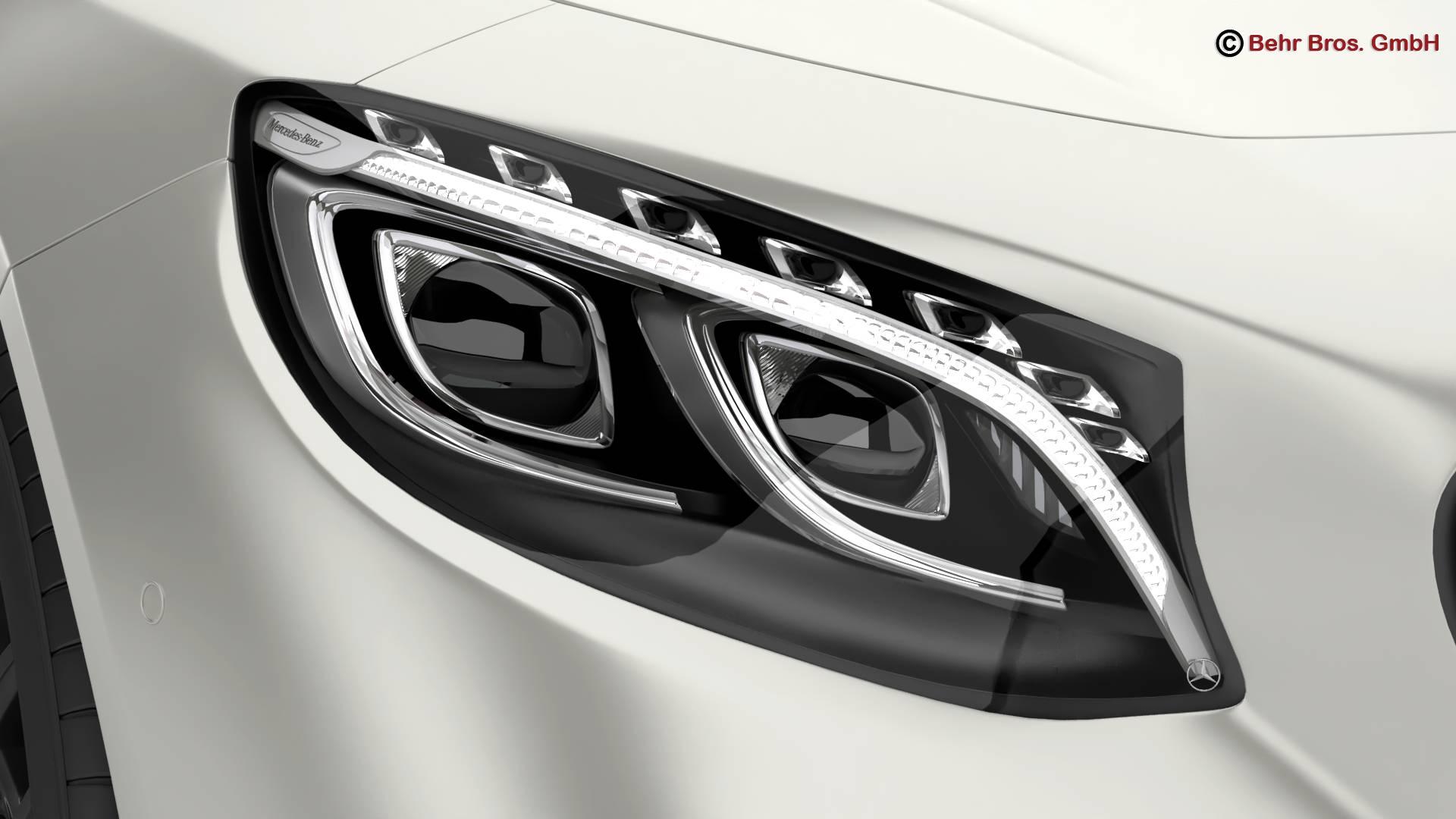 mercedes s class coupe amg s63 2018 3d model 3ds max fbx c4d lwo ma mb obj 274098