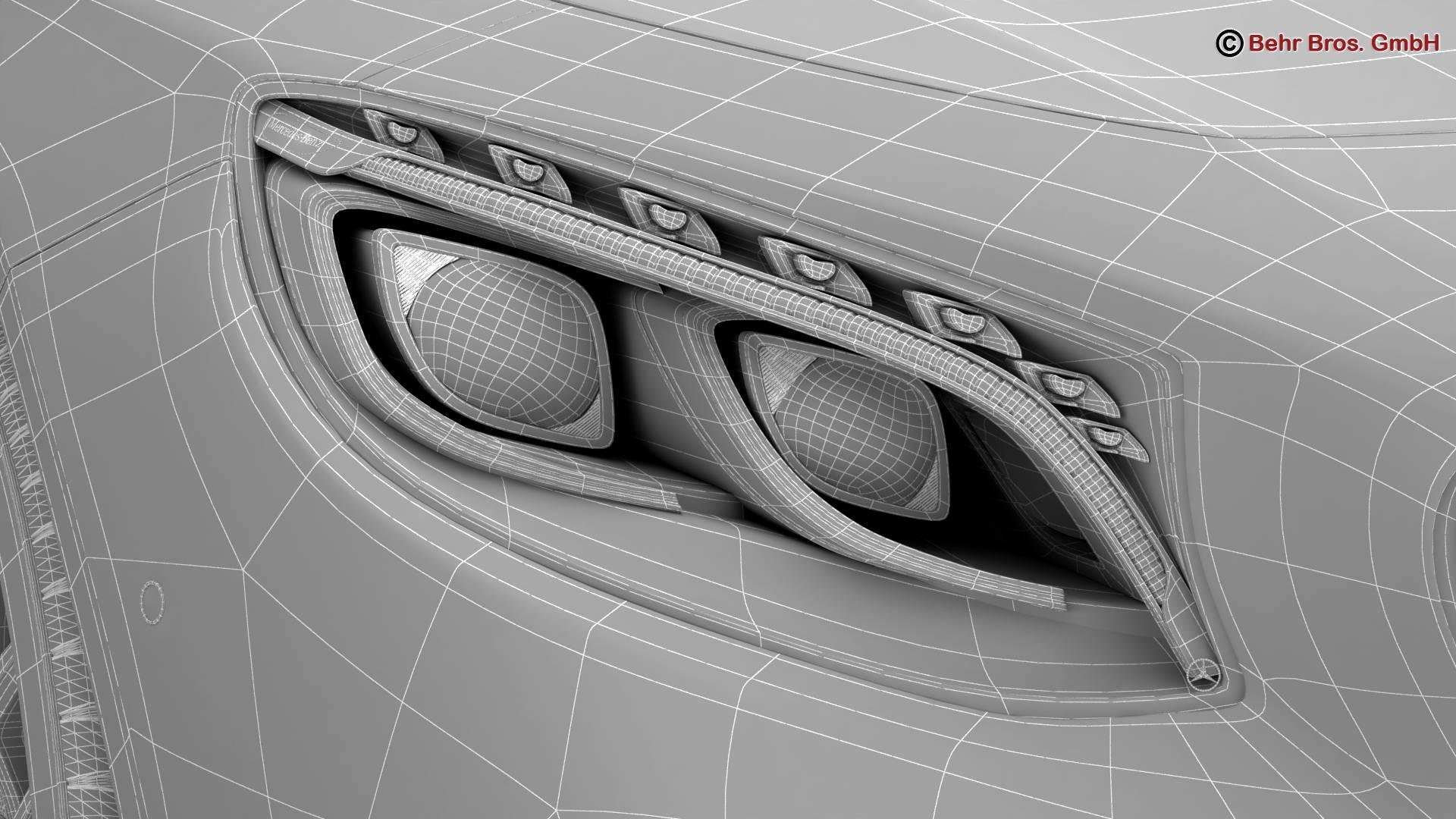mercedes s class coupe amg s63 2018 3d model 3ds max fbx c4d lwo ma mb obj 274113
