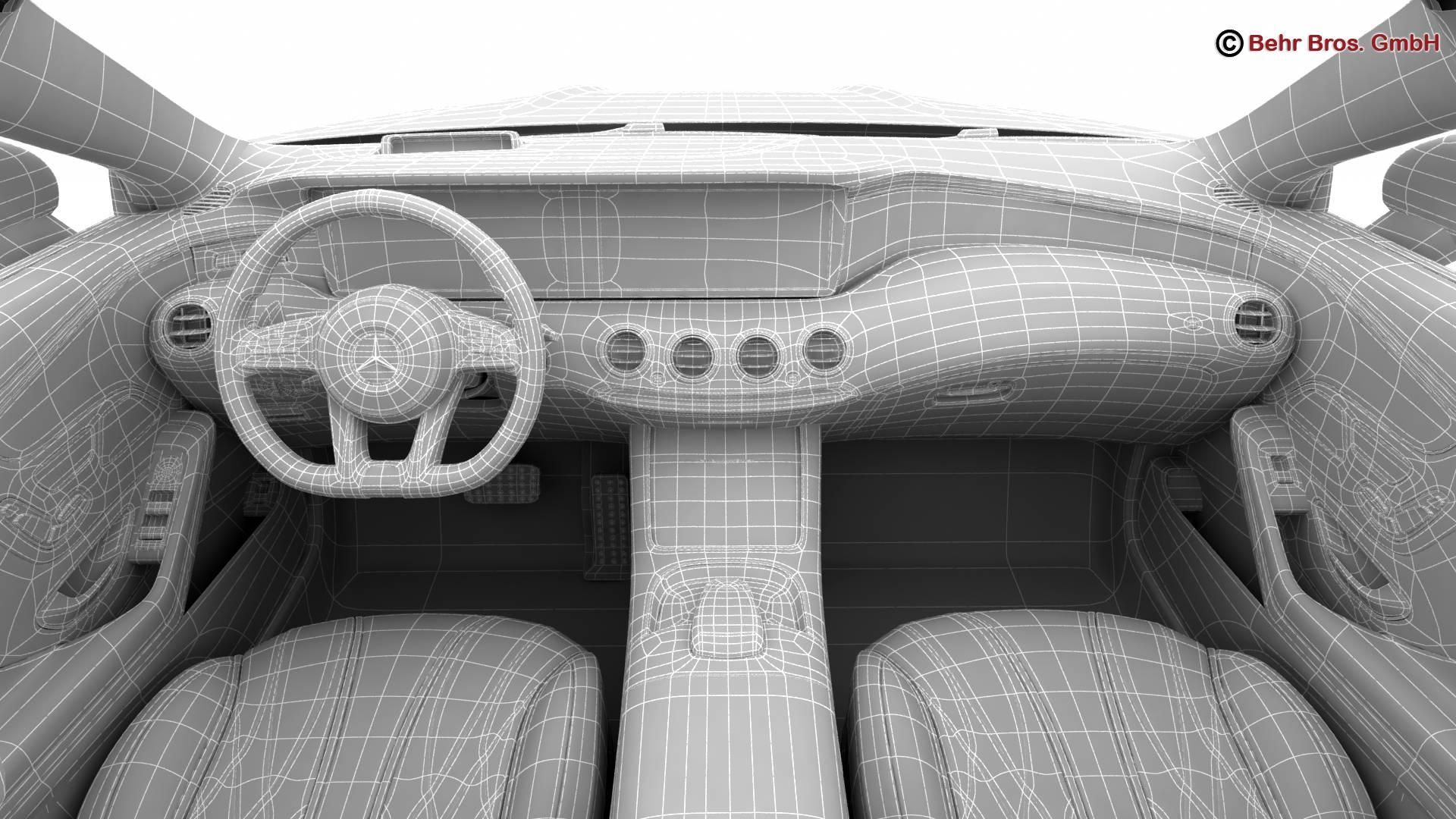 mercedes s class coupe amg s63 2018 3d model 3ds max fbx c4d lwo ma mb obj 274116