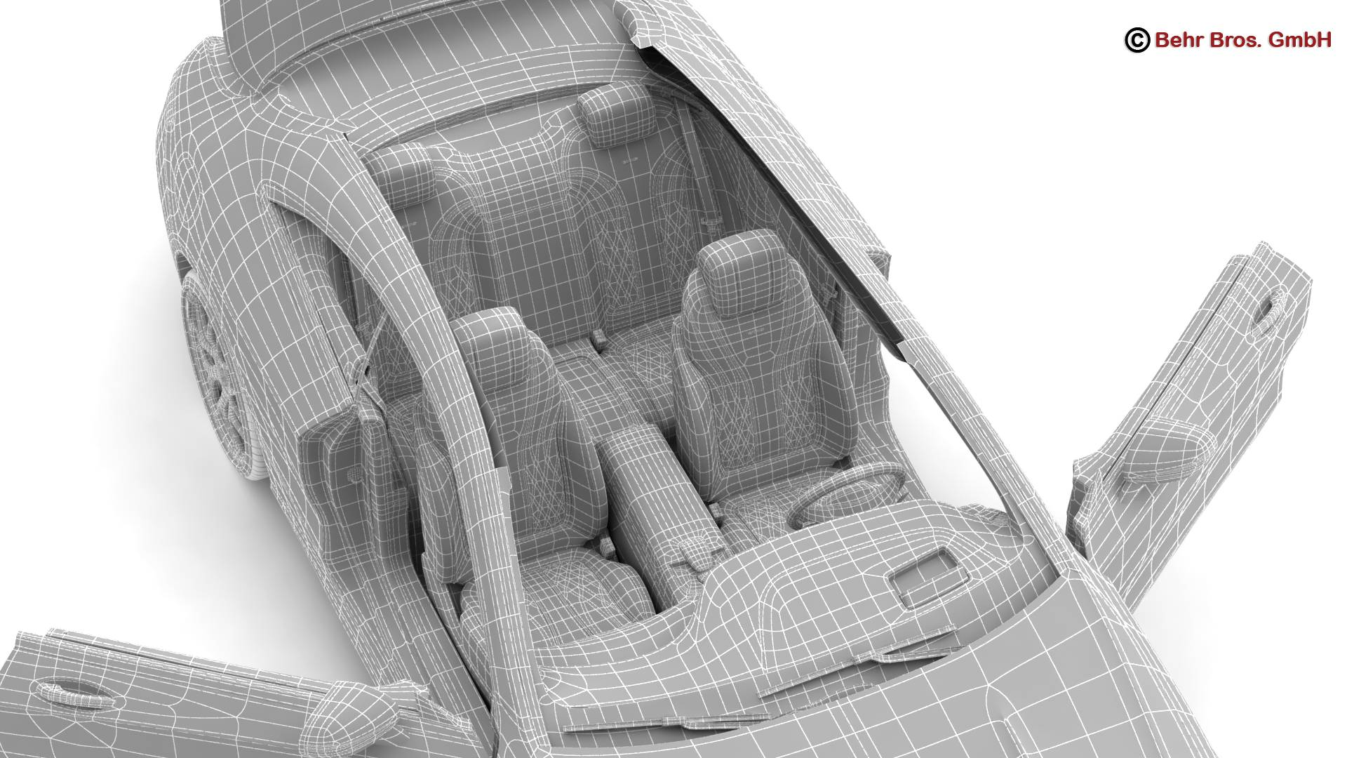 mercedes s class coupe amg s63 2018 3d model 3ds max fbx c4d lwo ma mb obj 274121