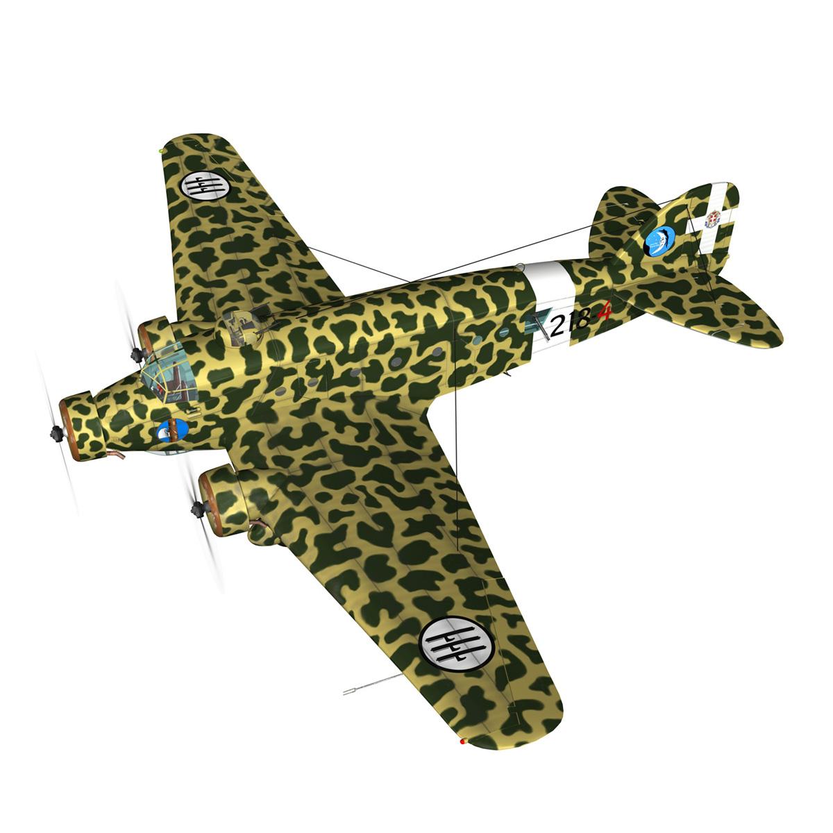 savoia-marchetti sm81 pipistrello model 3d 3ds fbx c4d lwo obj 274186