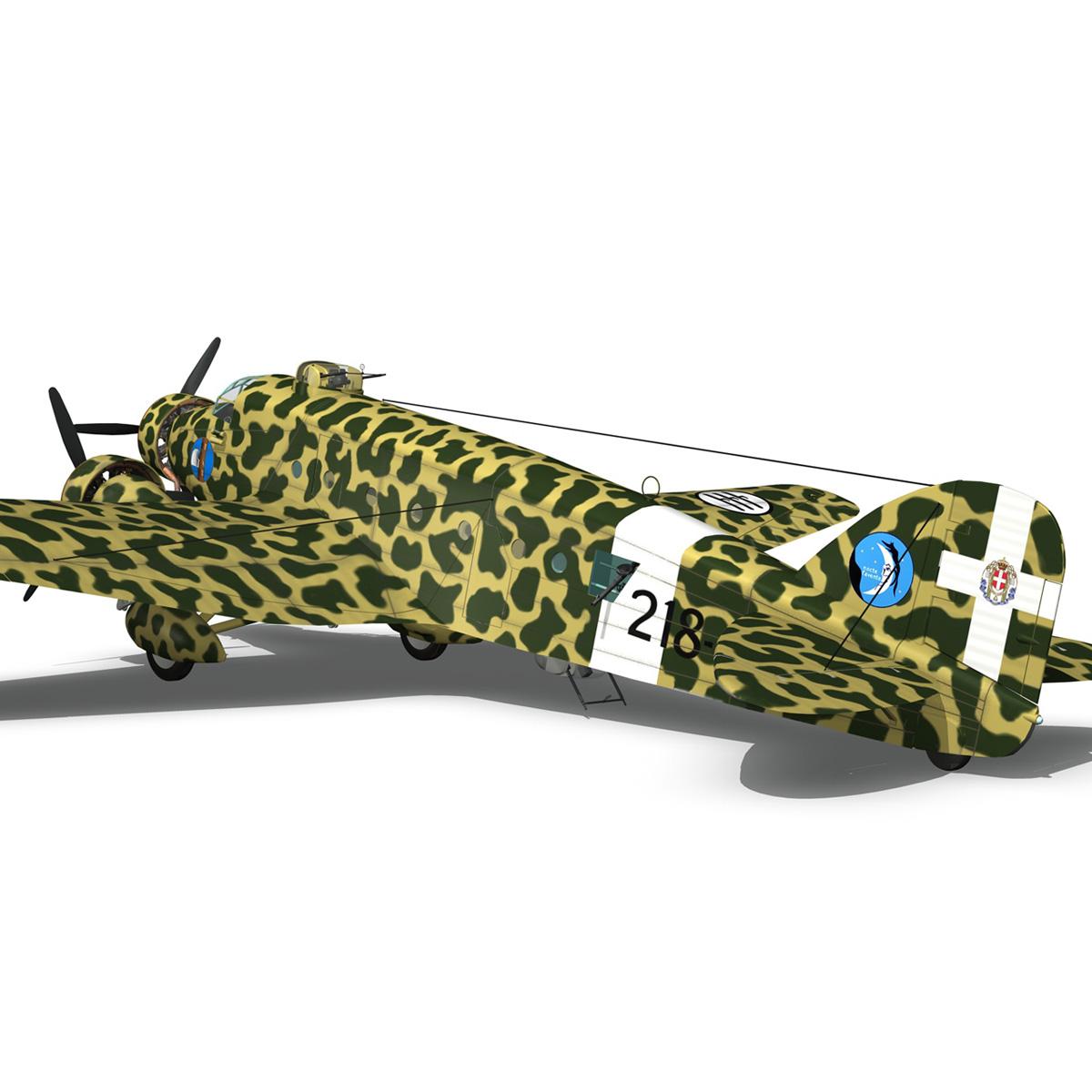 savoia-marchetti sm81 pipistrello model 3d 3ds fbx c4d lwo obj 274195