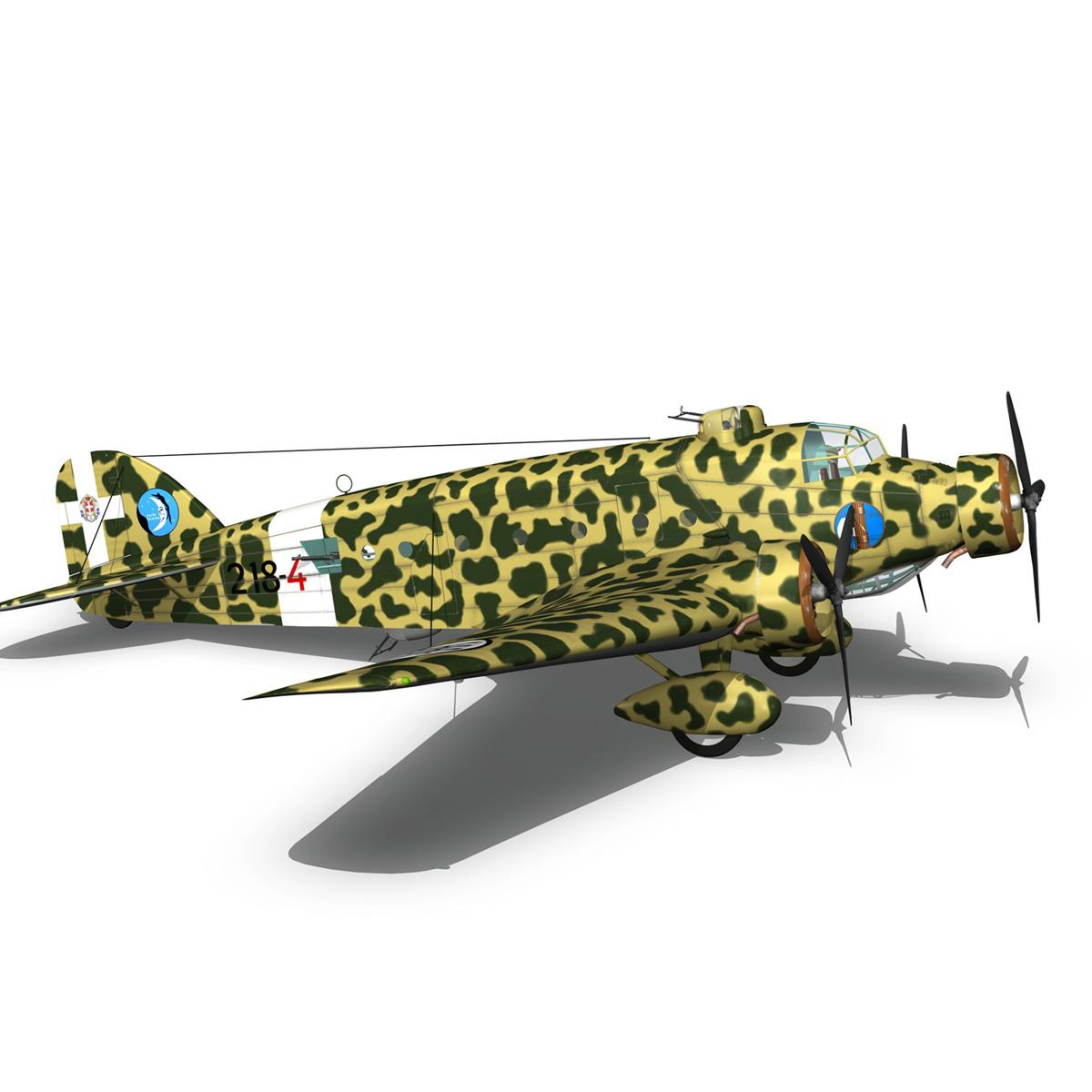 savoia-marchetti sm81 pipistrello model 3d 3ds fbx c4d lwo obj 274197