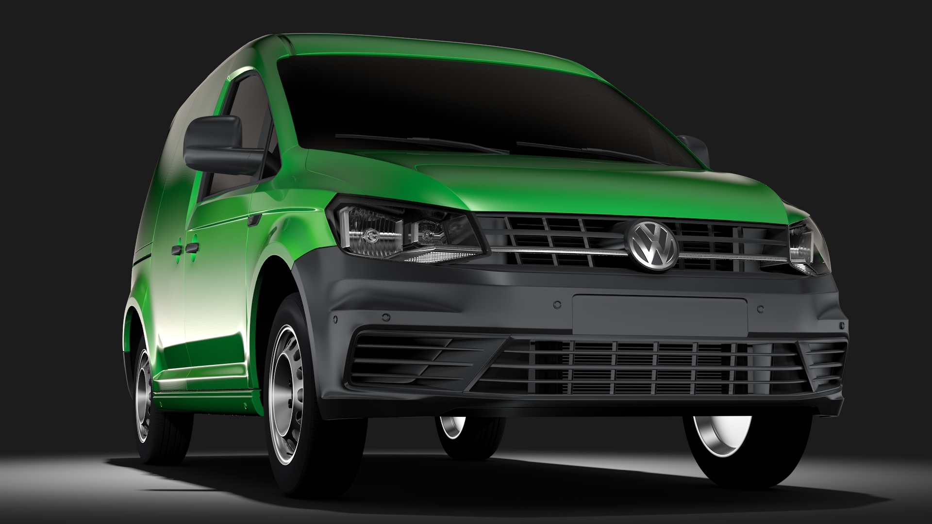 volkswagen caddy panel van l1 2017 3d model. Black Bedroom Furniture Sets. Home Design Ideas