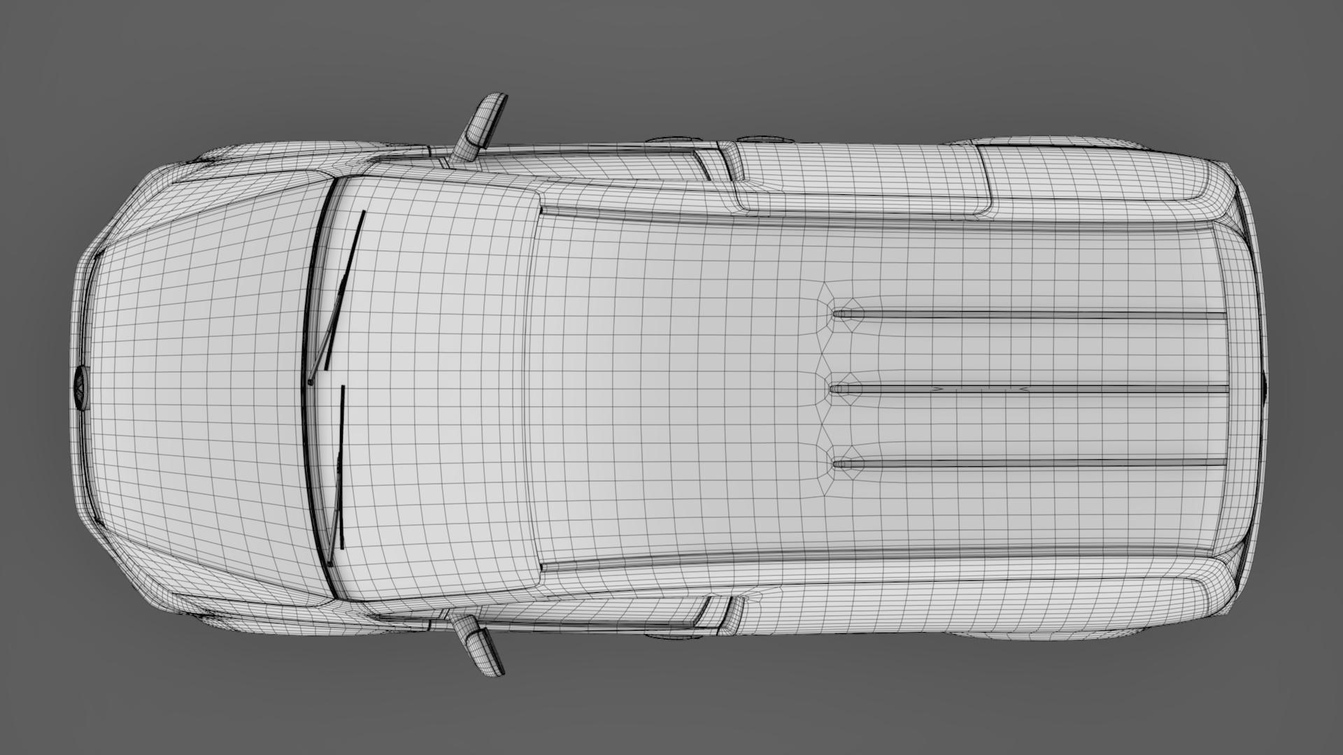 volkswagen caddy panel van l1 2017 3d model max fbx c4d lwo ma mb hrc xsi obj 274417