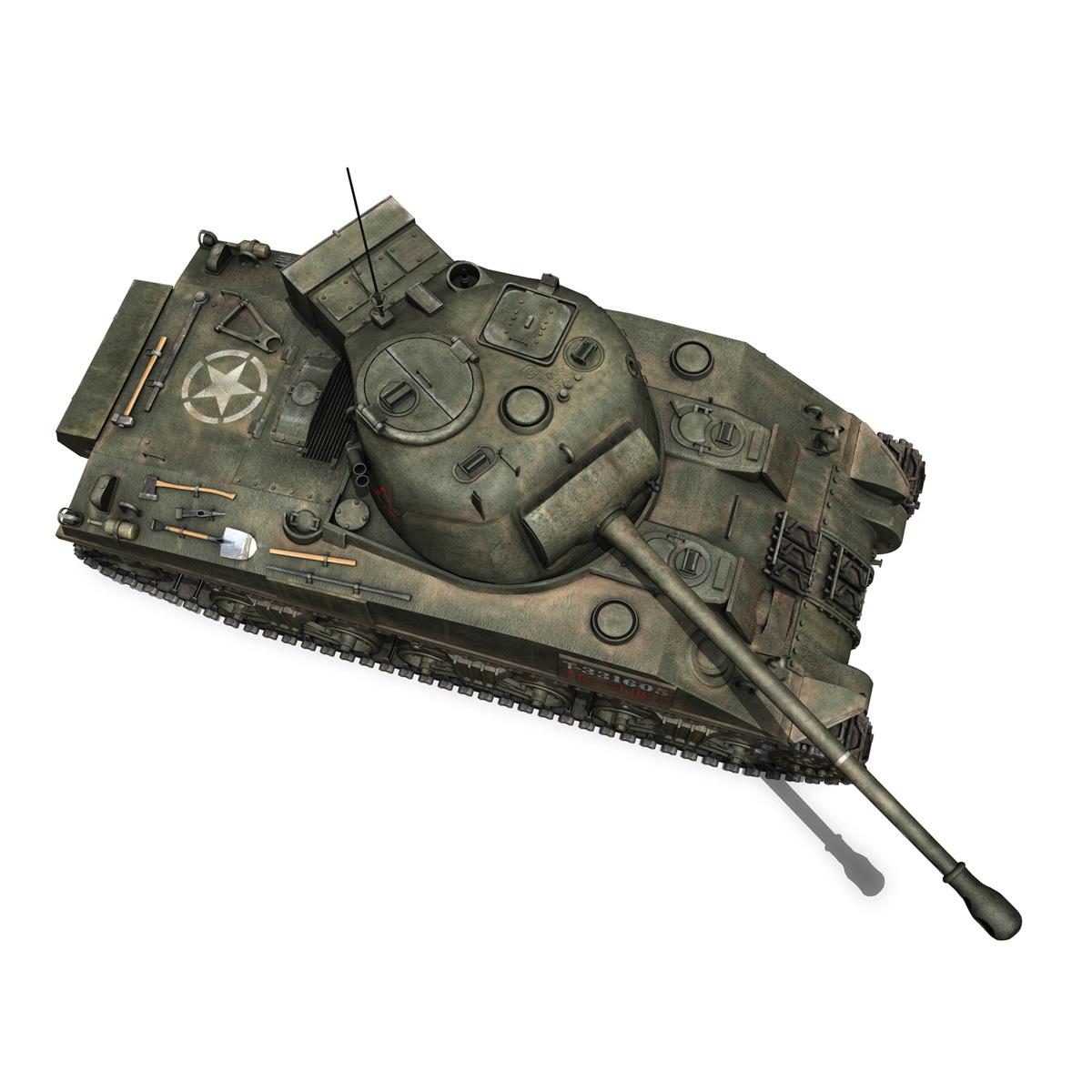 sherman mk vc firefly - mēģinājums 3d modelis 3ds fbx c4d lwo obj 274486