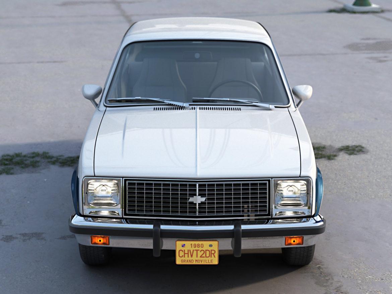 Chevy Chevette 2 Door 1980 3d model 3ds max fbx c4d dae obj