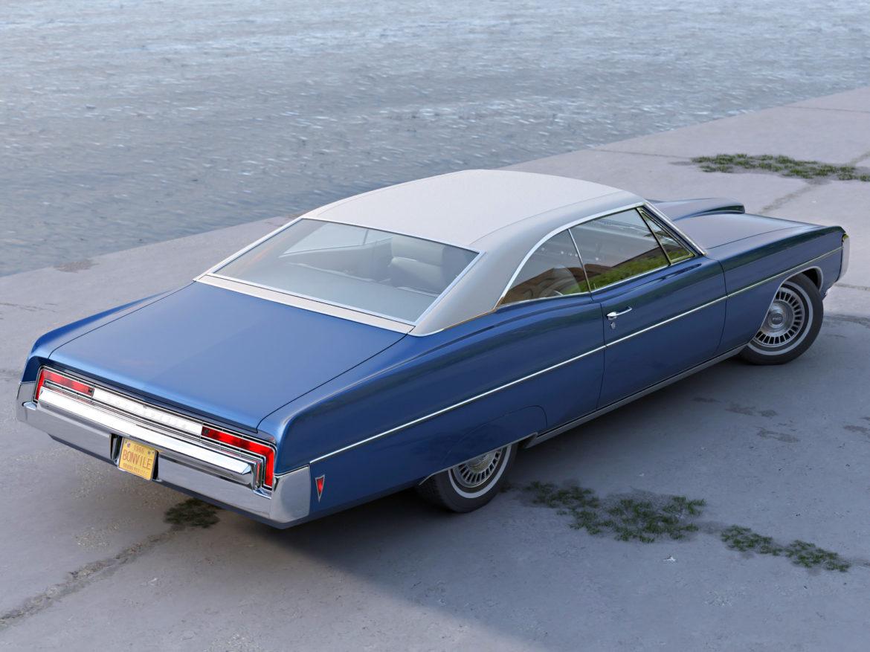 bonneville hardtop 2 door 1968 3d model 3ds max fbx c4d obj 274509