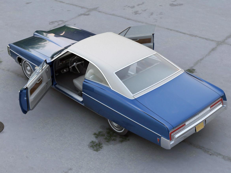 bonneville hardtop 2 door 1968 3d model 3ds max fbx c4d obj 274514