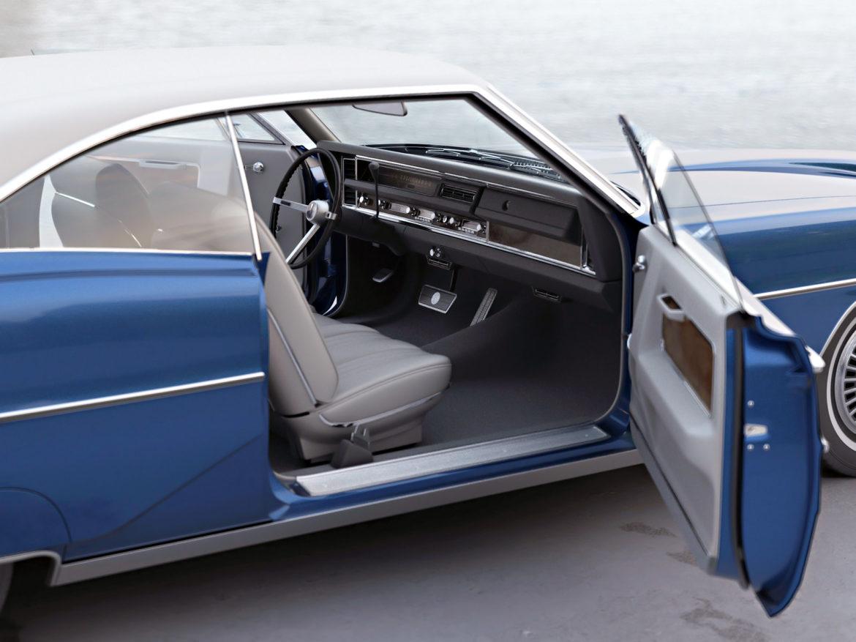 bonneville hardtop 2 door 1968 3d model 3ds max fbx c4d obj 274515