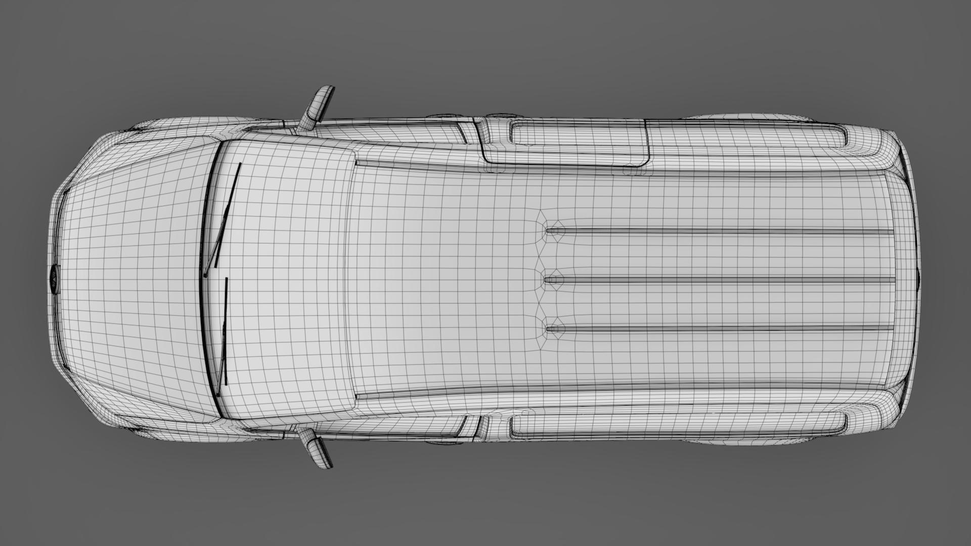 volkswagen caddy panel van l2 2017 3d model max fbx c4d lwo ma mb hrc xsi obj 274619