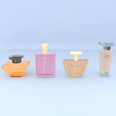 Lancome perfume 3d model 0