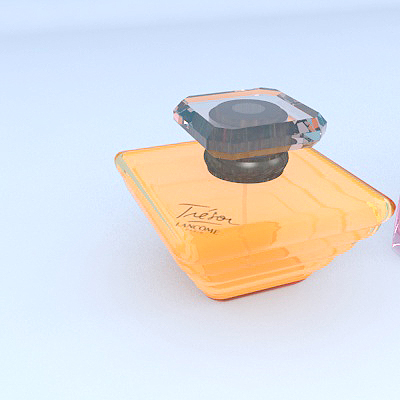 lancome perfume 3d model max 274889