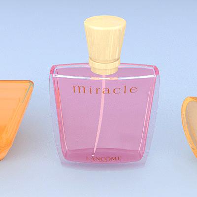 lancome perfume 3d model max 274890