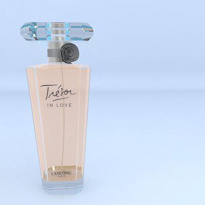 lancome perfume 3d model max 274892