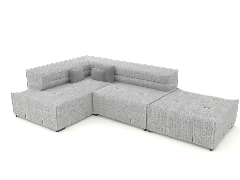 sofa tufty too 3d model 3ds 274956
