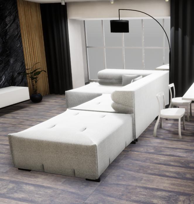 sofa tufty too 3d model 3ds 274957