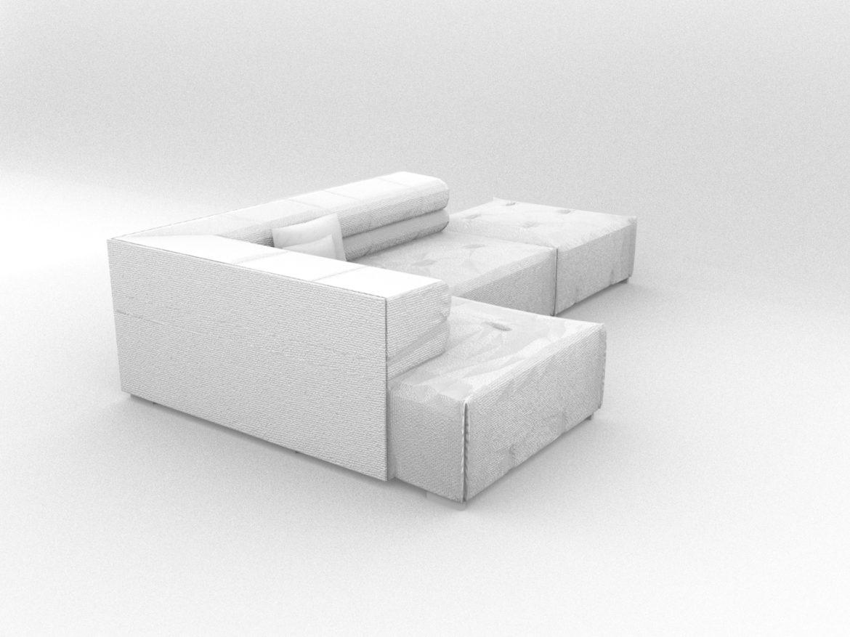 sofa tufty too 3d model 3ds 274960