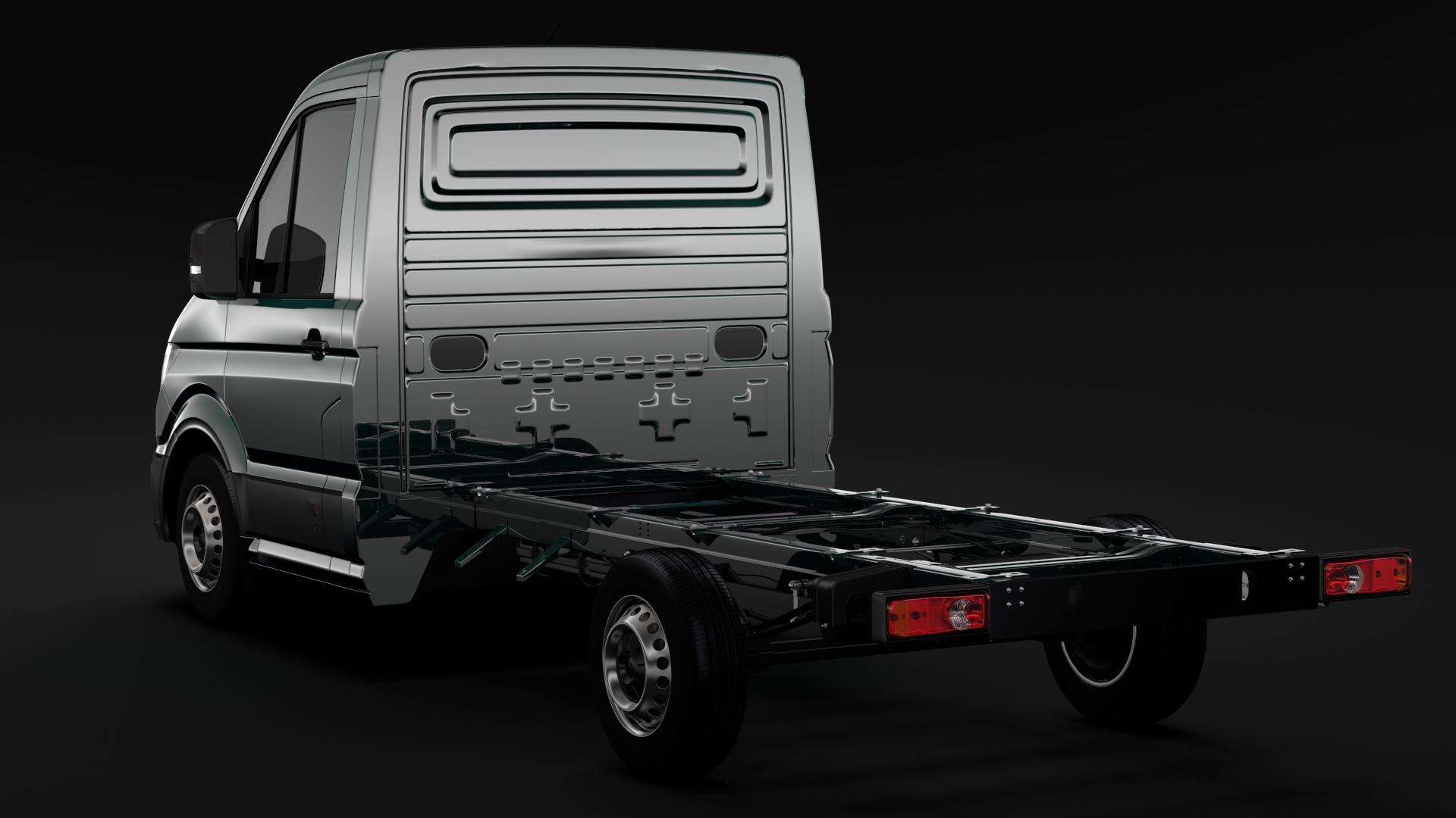 wv crafter chassis single-cab 2017 3d model max fbx c4d lwo ma mb hrc xsi obj 275097