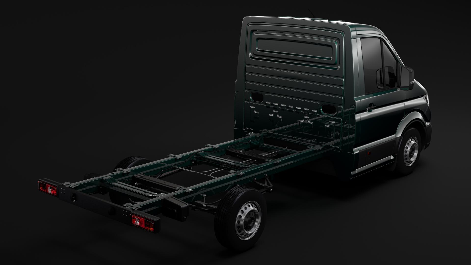 wv crafter chassis single-cab 2017 3d model max fbx c4d lwo ma mb hrc xsi obj 275098