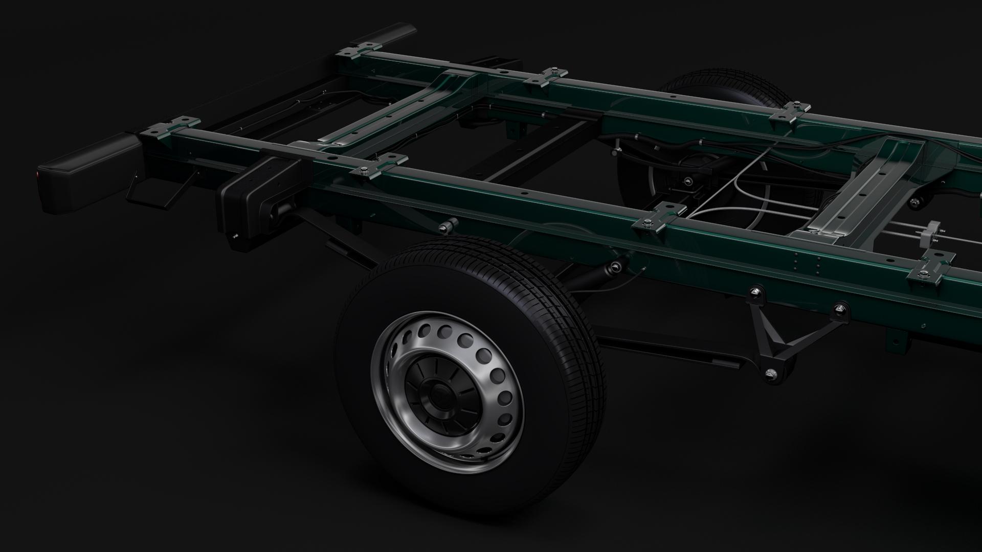 wv crafter chassis single-cab 2017 3d model max fbx c4d lwo ma mb hrc xsi obj 275099